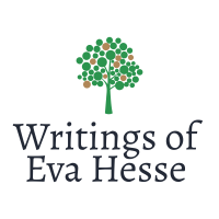Writings of Eva Hesse